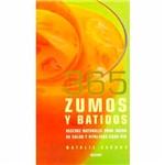 Livro - 365 Zumos Y Batidos