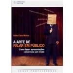 Livro - a Arte de Falar em Público: Como Fazer Apresentações Comerciais Sem Medo