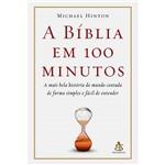 Livro - a Bíblia em 100 Minutos