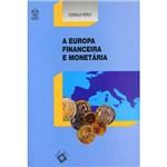 Livro - a Europa Financeira e Monetária