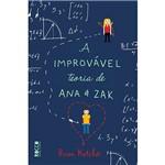 Livro - a Improvável Teoria de Ana e Zak