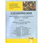 Livro - a Lei Agrária Nova - Vol. 4