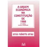 Livro - a Ordem Econômica na Constituição de 1988