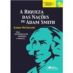 Livro - a Riqueza das Nações de Adam Smith