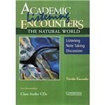 Livro : Academic Listening Encounters - The Natural World Class Áudio 3 CDs