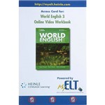 Livro - Access Card For: World English 3 - Online Video Workbook
