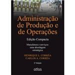 Livro - Administração de Produção e de Operações: Edição Compacta