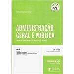 Livro - Administração Geral e Pública para os Concursos de Analista e Técnico