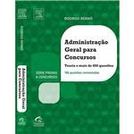 Livro - Administração Geral para Concursos: Série Provas e Concursos