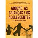 Livro - Adoção, as Crianças e os Adolescentes