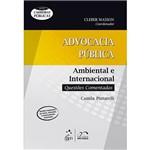 Livro - Advocacia Pública: Ambiental e Internacional - Questões Comentadas - Série Carreiras Públicas