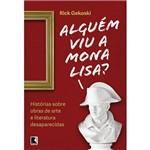 Livro - Alguém Viu a Mona Lisa?