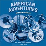 Livro - American Adventures - Intermediate: Class Áudio CDs (2)