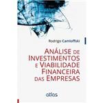 Livro - Análise de Investimentos e Viabilidade Financeira das Empresas
