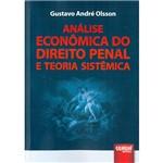Livro - Análise Econômica do Direito Penal e Teoria Sistêmica