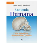 Livro - Anatomia Humana - Atlas Fotográfico de Anatomia Sistêmica e Regional