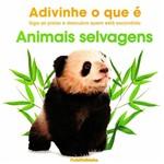 Livro - Animais Selvagens: Siga as Pistas e Descubra Quem Está Escondido - Adivinhe o que é