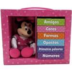Livro - Aprenda com a Minnie: Amigos, Cores, Formas, Opostos, Primeiras Palavras, Número [6 Volumes]