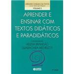 Livro - Aprender e Ensinar com Textos Didáticos e Paradidáticos - Vol. 2