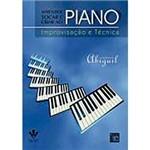 Livro - Aprender Tocar e Criar ao Piano: Improvisação e Técnica