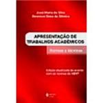 Livro - Apresentação de Trabalhos Acadêmicos: Normas e Técnicas