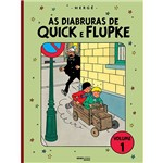 Livro - as Diabruras de Quick e Flupke - Vol. 1