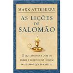 Livro - as Lições de Salomão