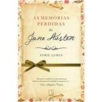 Livro - as Memórias Perdidas de Jane Austen