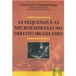 Livro - as Pequenas e as Microempresas no Direito Brasileiro