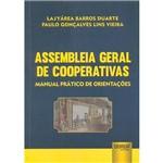 Livro - Assembleia Geral de Cooperativas: Manual Prático de Orientações
