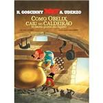 Livro - Asterix: Como Obelix Caiu no Caldeirão do Druida Quando Era Pequeno