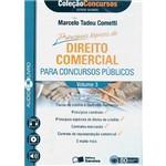 Livro - AudioLivro (CD): Principais de Tópicos Direito Comercial para Concursos Públicos, Vol.3