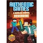 Livro - Authenticgames: a Batalha Contra Herobrine