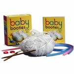 Livro - Baby Booties Knit Kit