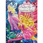 Livro - Barbie: Butterfly e a Pricesa Fairy