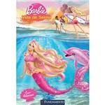 Livro - Barbie em Vida de Sereia - Edição com Adesivos
