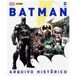 Livro - Batman - Arquivo Histórico