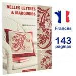 Livro Belles Lettres & Marquoirs En Rouge Et Blanc