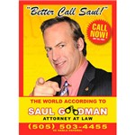Livro - Better Call Saul: The World According To Saul Goodman