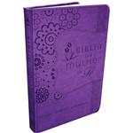 Livro - Bíblia da Mulher de Fé Roxa: Estudo - Oração - Comunhão