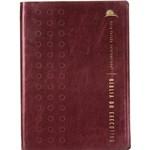Livro - Bíblia do Executivo - NVI - Edição de Luxo - Vinho