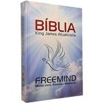 Livro - Bíblia King James Freemind Dr. Augusto Cury - Capa Dura