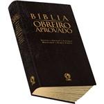 Livro - Bíblia Obreiro Aprovado: Harpa Cristã Luxo (Preta)