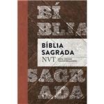 Livro - Bíblia Sagrada: Nvt Nova Versão Trasnformadora (Madeira)