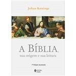 Livro - Bíblia, Sua Origem e Sua Leitura, a