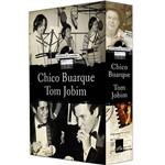 Livro - Box Histórias de Canções: Chico Buarque e Tom Jobim