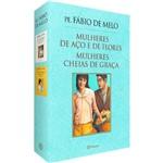 Livro - Box Pe. Fábio de Melo : Mulheres de Aço e de Flores / Mulheres Cheias de Graça