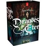 Livro - Box Trilogia Dragões de Éter (3 Volumes: Vol I - Caçadores de Bruxas; Vol II - Corações de Neve; Vol III - Círculos de Chuva)