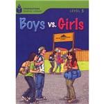 Livro - Boys Vs. Girls - Level 5