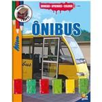 Livro - Brincar-Aprender-Colorir: Onibus